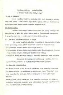"""Współzawodnictwo Kombajnistów o """"Puchar Wojewody Elbląskiego"""" - druk"""