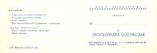 Uroczystości Dożynkowe 1977 r. Dzierzgoń - zaproszenie