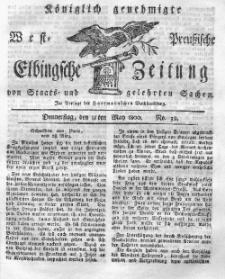 Elbingsche Zeitung, No. 39 Donnerstag, 15 Mai 1800