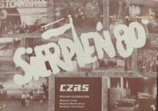 Czas, wystawa fotograficzna Sierpień '80 - plakat