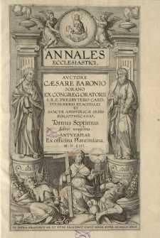 Annales ecclesiastici, T. 7