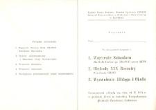 Wręczenie Sztandaru i Obchody 30 Rocznicy Powołania ORMO i Wyzwolenia Elbląga i Okolic w Rychlikach w 1976 r. - zaproszenie