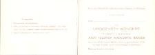 Uroczysty Koncert z Okazji Obchodów Trzydziestej Pierwszej Rocznicy Wyzwolenia Elbląga w 1976 r. - zaproszenie