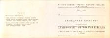 Uroczysty Koncert z Okazji Obchodów Trzydziestej Drugiej Rocznicy Wyzwolenia Elbląga w 1977 r. - zaproszenie