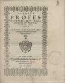 Carmina professorum et amicorum in Altorphiensi Academia Ioanni Trunccio Mariaeburgensi Borusso in patriam abeunti scripta