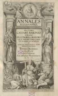 Annales ecclesiastici, T. 10