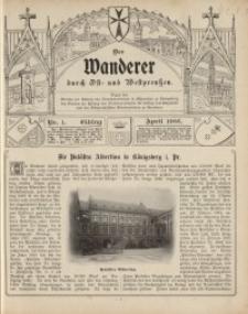 Der Wanderer durch Ost- und Westpreußen, Jg.3, 1906.