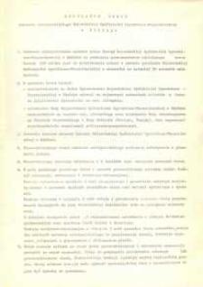 Regulamin Obrad Zebrania Założycielskiego Wojewódzkiej Spółdzielni Ogrodniczo-Pszczelarskiej w Elblągu - druk