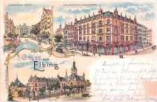 Elbląg do 1939 r. – widokówka nr 2