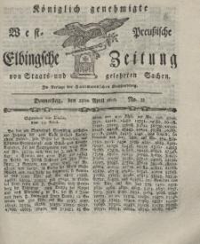 Elbingsche Zeitung, No. 32 Donnerstag, 22 April 1802