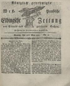 Elbingsche Zeitung, No. 37 Montag, 10 Mai 1802