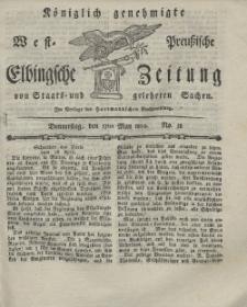 Elbingsche Zeitung, No. 38 Donnerstag, 13 Mai 1802