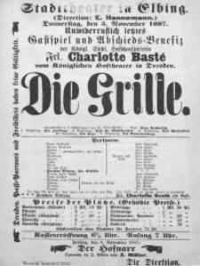 Die Grille - Charlotte Birch-Pfeiffer
