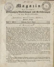 Magazin der Neuesten Erfindungen, Entdeckungen und Verbesserungen in der Gewerbskunde, Bd 1, 1832, H. 1-12
