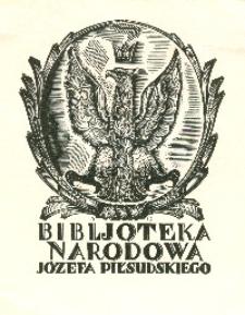 Ex Libris: Bibjoteka Narodowa Józefa Piłsudskiego