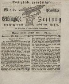Elbingsche Zeitung, No. 83 Montag, 18 Oktober 1802