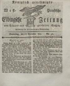 Elbingsche Zeitung, No. 96 Donnerstag, 2 Dezember 1802
