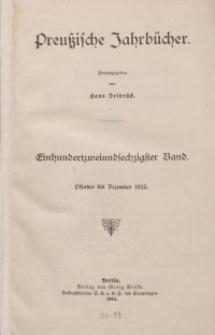 Preußische Jahrbücher, 1915, Bd 162.