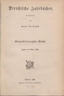 Preußische Jahrbücher, 1893, Bd 71/72.