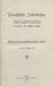 Preußische Jahrbücher, 1923, Bd 191/192.