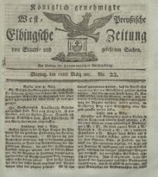 Elbingsche Zeitung, No. 22 Montag, 18 März 1811