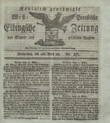 Elbingsche Zeitung, No. 27 Donnerstag, 4 April 1811