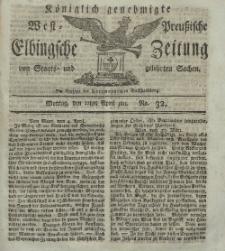 Elbingsche Zeitung, No. 32 Montag, 22 April 1811