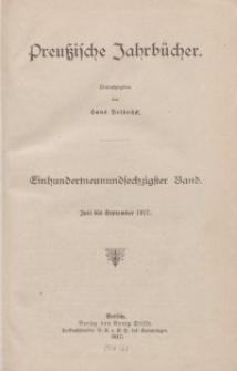 Preußische Jahrbücher, 1917, Bd 169.