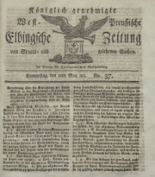 Elbingsche Zeitung, No. 37 Donnerstag, 9 Mai 1811