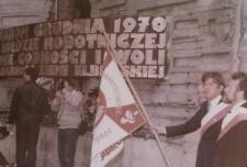 """Uroczystości """"Solidarności"""" w Elblągu – zdjęcie nr 1"""