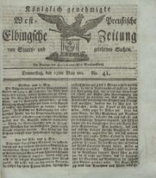 Elbingsche Zeitung, No. 41 Donnerstag, 23 Mai 1811