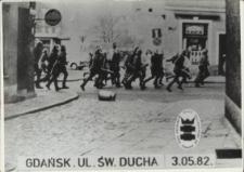Demonstracje w stanie wojennym (Gdańsk) – zdjęcie nr 2