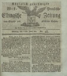 Elbingsche Zeitung, No. 48 Montag, 17 Juni 1811