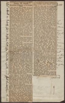 Danziger Zeitung, 20.10.1895 - wycinek prasowy