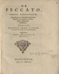De peccato theses theologicae