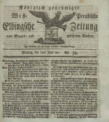 Elbingsche Zeitung, No. 54 Montag, 8 Juli 1811