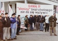 Manifestacja w obronie zwolnionych kobiet z Elbląga – zdjęcie nr 3