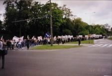 Manifestacja w obronie zwolnionych kobiet z Elbląga – zdjęcie nr 6