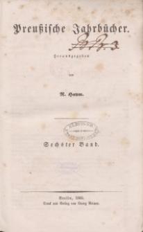 Preußische Jahrbücher, 1860, Bd 6.
