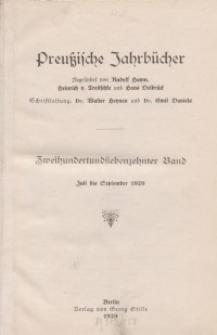 Preußische Jahrbücher, 1929, Bd 217/218.