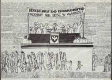 Idziemy do dobrobytu – prosimy nie jeść w marszu! – afisz
