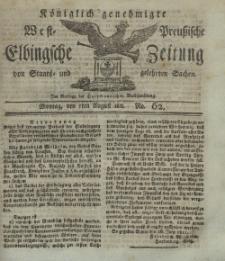 Elbingsche Zeitung, No. 62 Montag, 5 August 1811