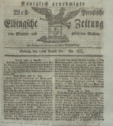 Elbingsche Zeitung, No. 66 Montag, 19 August 1811