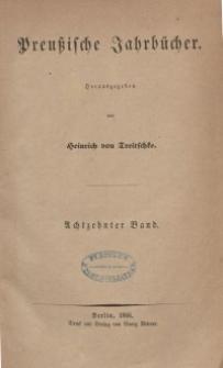 Preußische Jahrbücher, 1866, Bd 18.