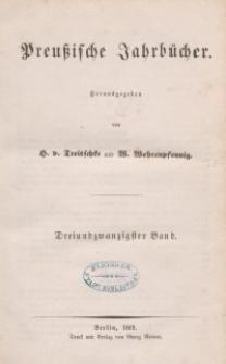 Preußische Jahrbücher, 1869, Bd 23.