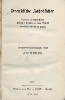 Preußische Jahrbücher, 1935, Bd 239/240.