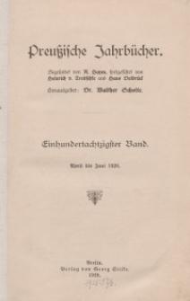 Preußische Jahrbücher, 1920, Bd 180.