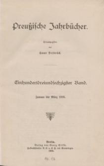 Preußische Jahrbücher, 1916, Bd 163.