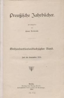 Preußische Jahrbücher, 1916, Bd 165.