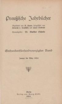 Preußische Jahrbücher, 1924, Bd 195/196.